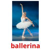 ballerina picture flashcards