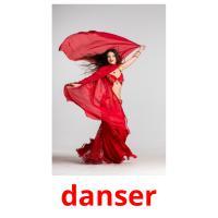 danser picture flashcards