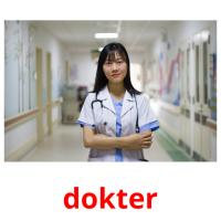 dokter picture flashcards