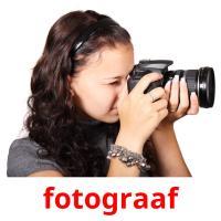 fotograaf picture flashcards