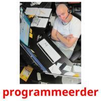programmeerder picture flashcards