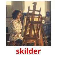 skilder picture flashcards