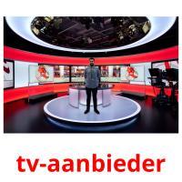 tv-aanbieder picture flashcards