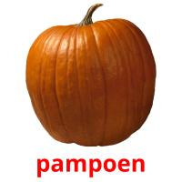pampoen picture flashcards