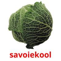 savoiekool picture flashcards