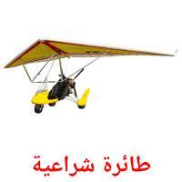 طائرة شراعية picture flashcards