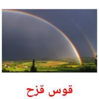 قوس قزح picture flashcards