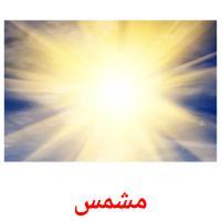 مشمس picture flashcards