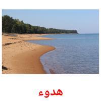 هدوء picture flashcards