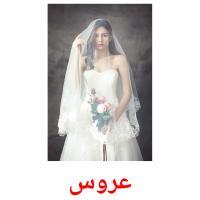 عروس picture flashcards