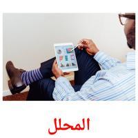 المحلل picture flashcards
