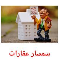 سمسار عقارات picture flashcards
