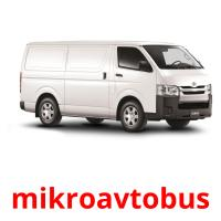 mikroavtobus picture flashcards