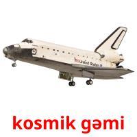 kosmik gəmi picture flashcards