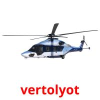 vertolyot picture flashcards