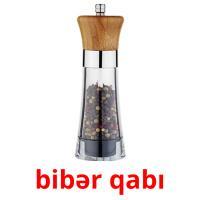 bibər qabı picture flashcards