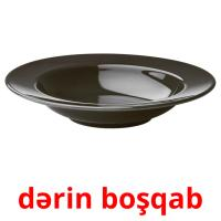 dərin boşqab picture flashcards