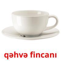 qəhvə fincanı picture flashcards