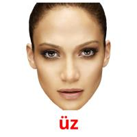üz picture flashcards
