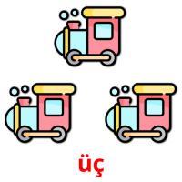 üç picture flashcards