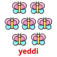 yeddi picture flashcards