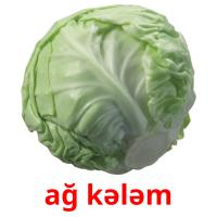 ağ kələm card for translate