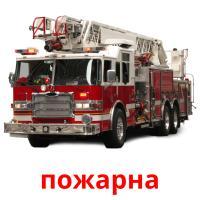 пожарна picture flashcards