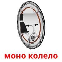 моно колело picture flashcards