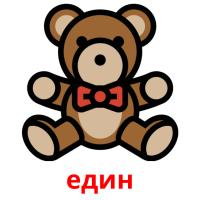 един picture flashcards
