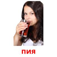 пия picture flashcards