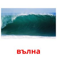 вълна picture flashcards
