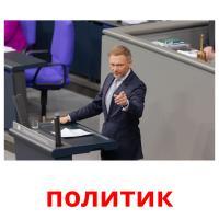 политик picture flashcards