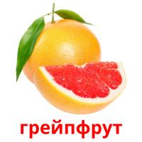 грейпфрут picture flashcards