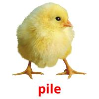 pile picture flashcards