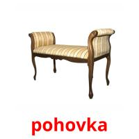 pohovka picture flashcards