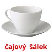 čajový  šálek picture flashcards