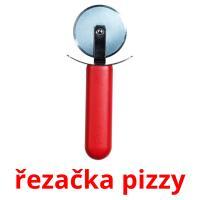 řezačka pizzy picture flashcards