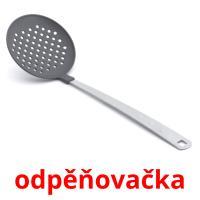 odpěňovačka picture flashcards