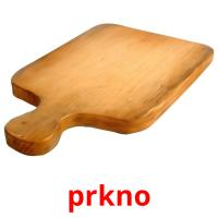 prkno picture flashcards