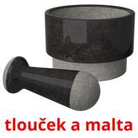 tlouček a malta picture flashcards