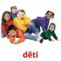 děti picture flashcards