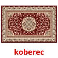 koberec picture flashcards