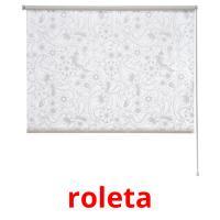 roleta picture flashcards