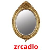 zrcadlo picture flashcards