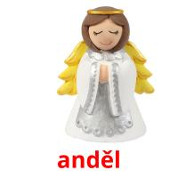 anděl picture flashcards