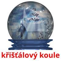 křišťálový koule picture flashcards