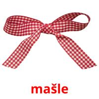 mašle picture flashcards