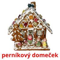 perníkový domeček picture flashcards