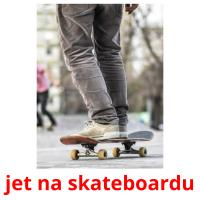 jet na skateboardu card for translate