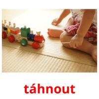 táhnout picture flashcards